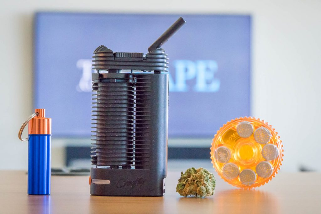 Crafty dry herb vaporizer