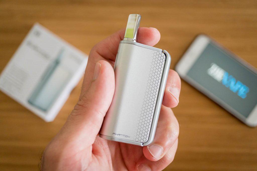 HoneyStick Squeeze Box Phantom dual use vaporizer Review