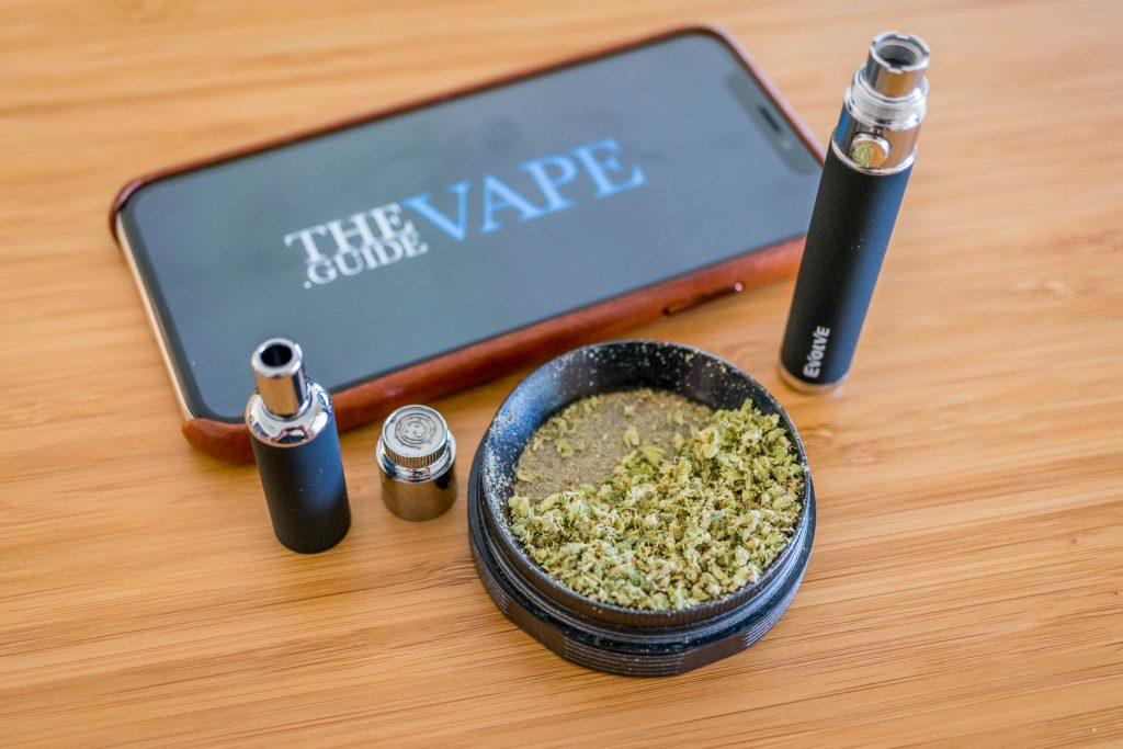 Yocan Evolve 3 in 1 Review Dry herb