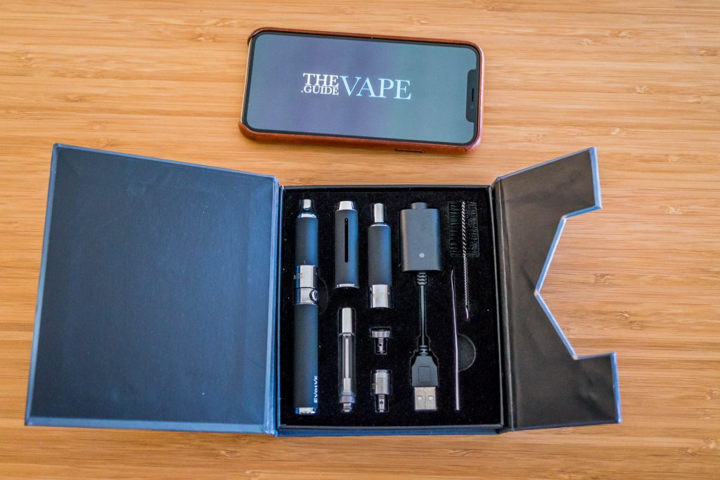 Yocan Evolve 3 in 1 Review Kit. Things included in kit