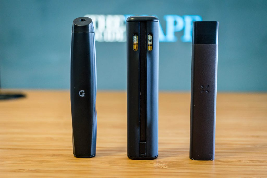 best vaporizers for pre-filled oil cartridges gio, double barrel, and era