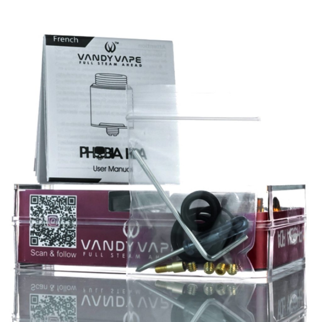 vandy vape phobia review package