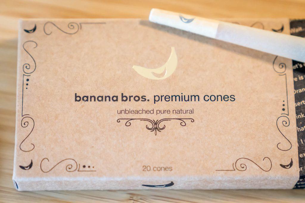 Banana Bros. Otto Weed Grinder Cones Package