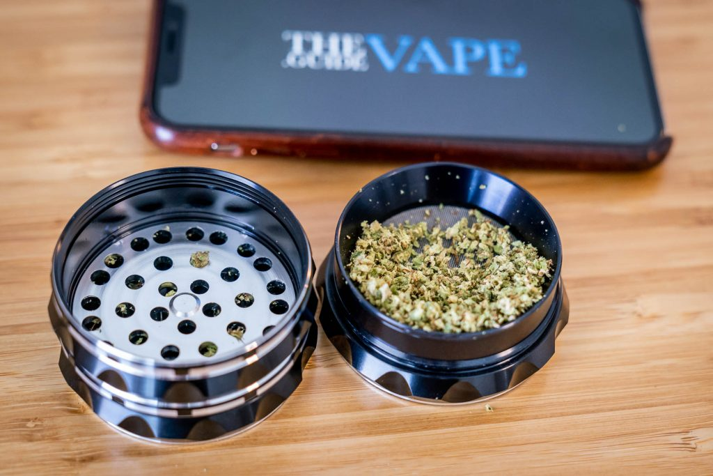 Kozo Herb Grinder Collection Chamber