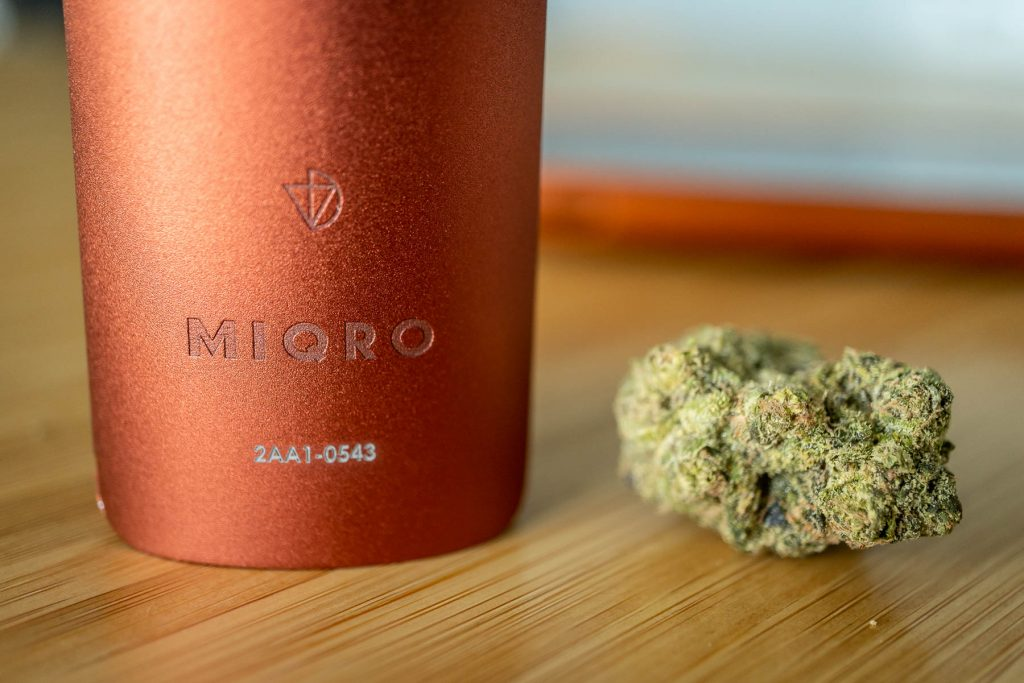 DaVinci Miqro dry herb vaporizer