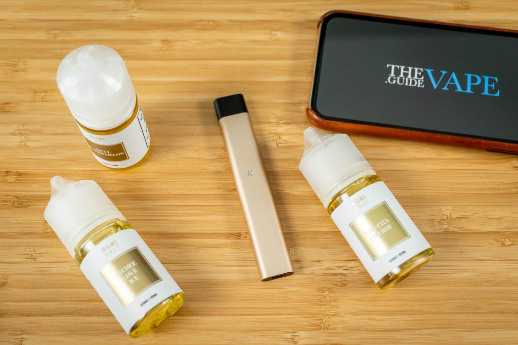KandyPens Rubi Salt e-Liquid and Gold Rubi
