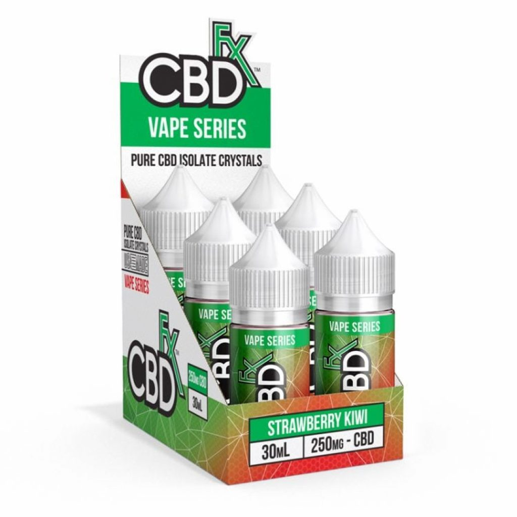 CBDfx CBD Vape Juice Six-Pack