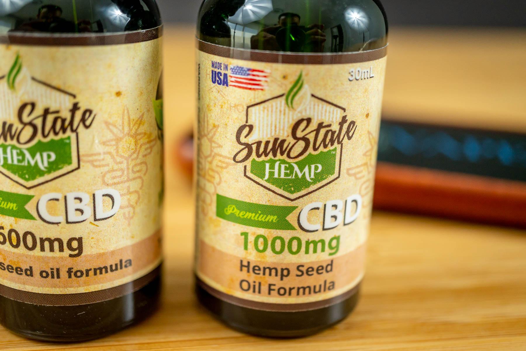 Sun State CBD Oil 1000 mg Hempseed Oil