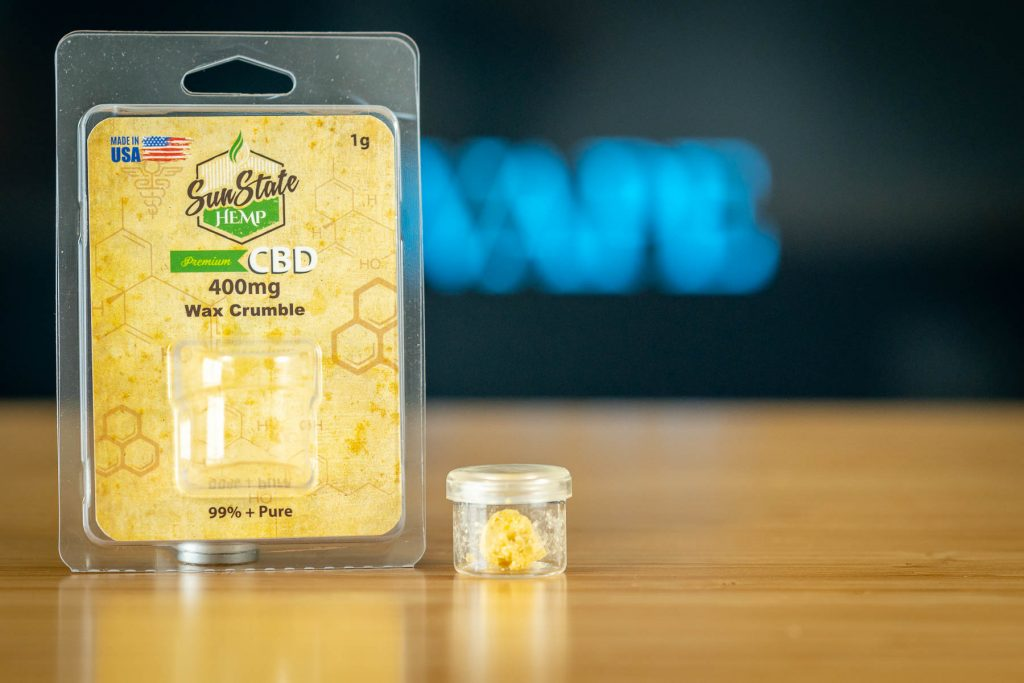 Sun State CBD vape wax Review