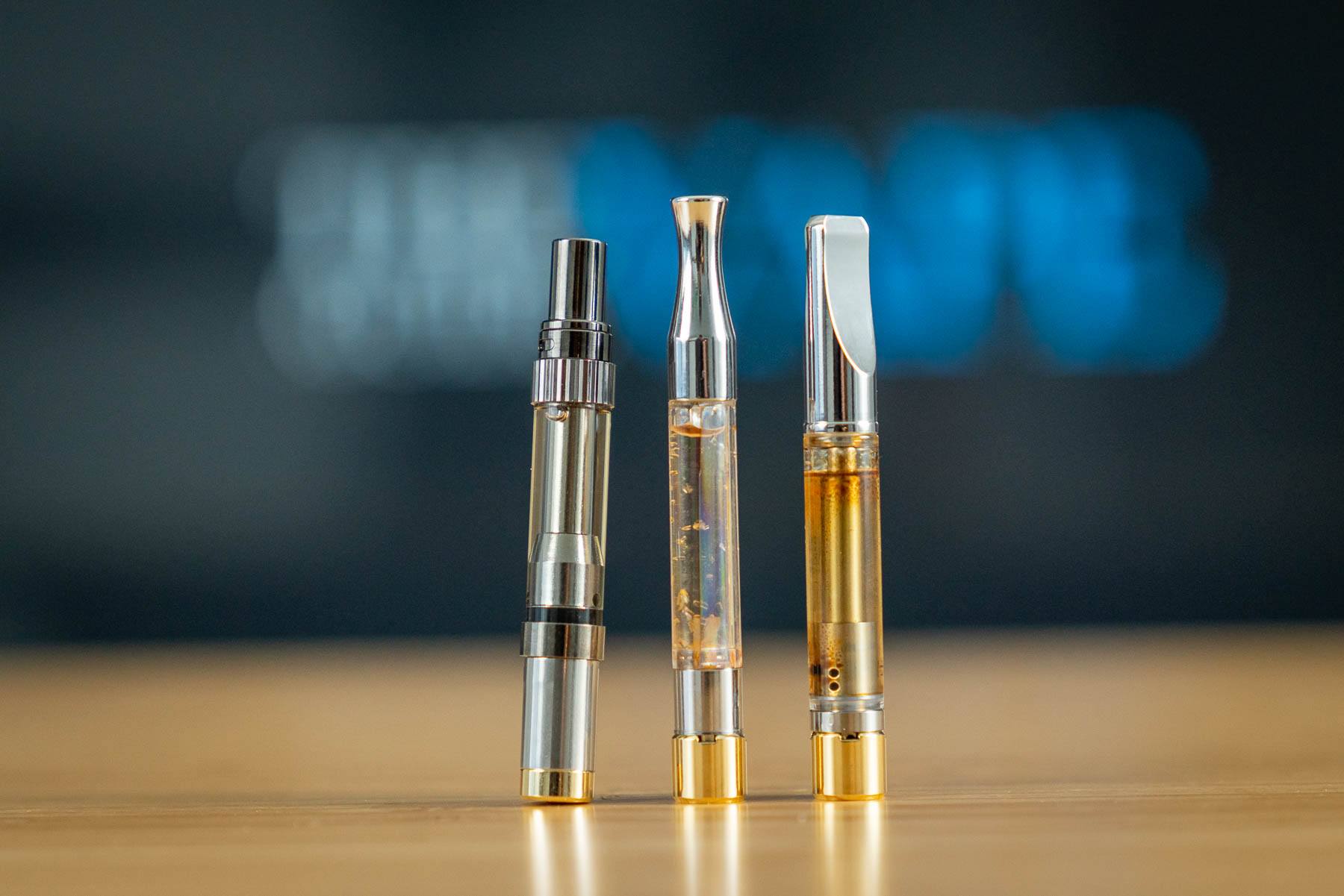 Gold Line CBD 510 Cartridges vs Hemp Bombs & Sun State