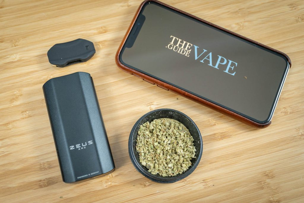 Zeus Arc Vaporizer Ground Weed