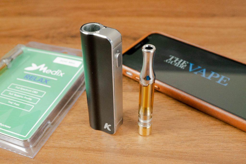 Medix CBD vape oil with C-Box