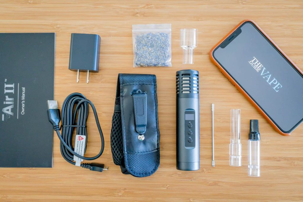 Arizer Air 2 Kit and Accessories