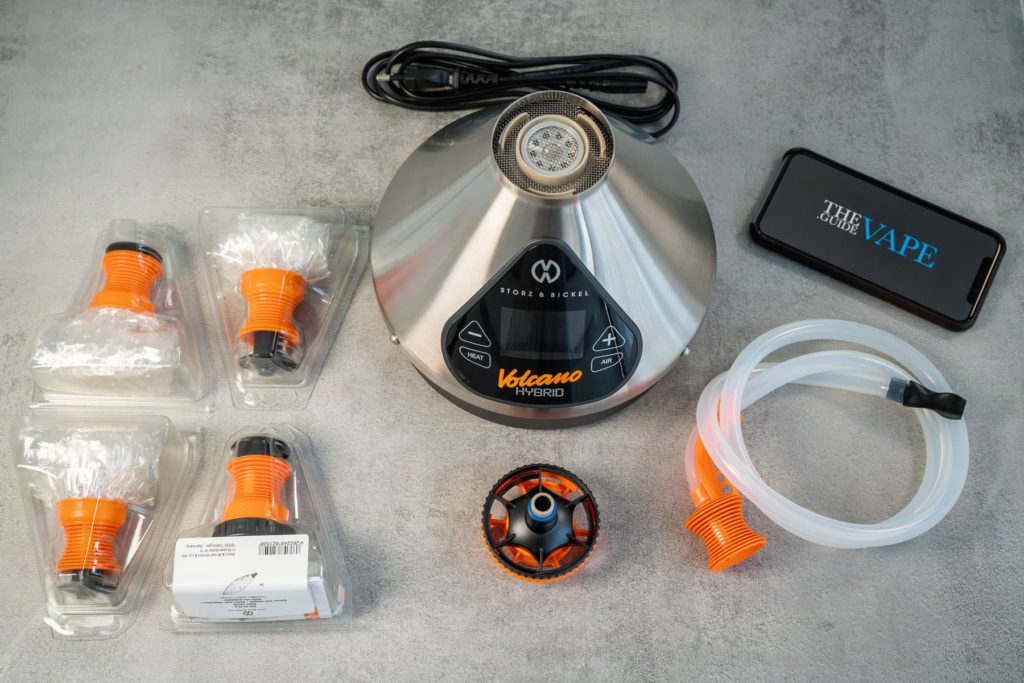 Volcano Hybrid Kit and Accessories