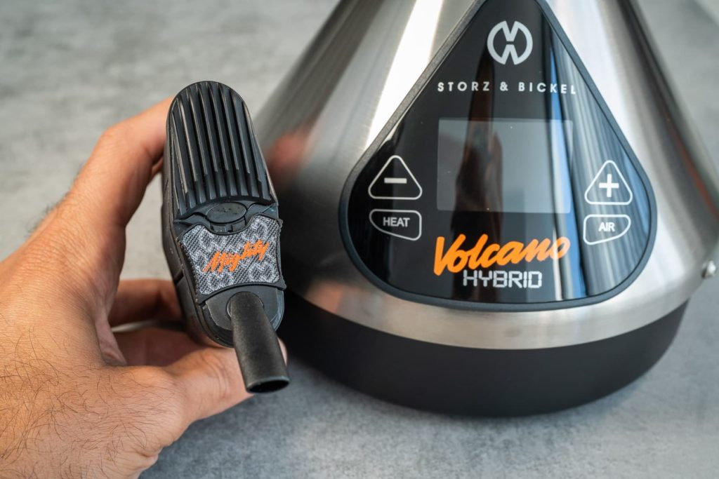 Volcano Hybrid vs Mighty Vapor Quality